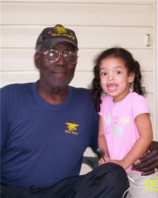 Al Washington and granddaughter
